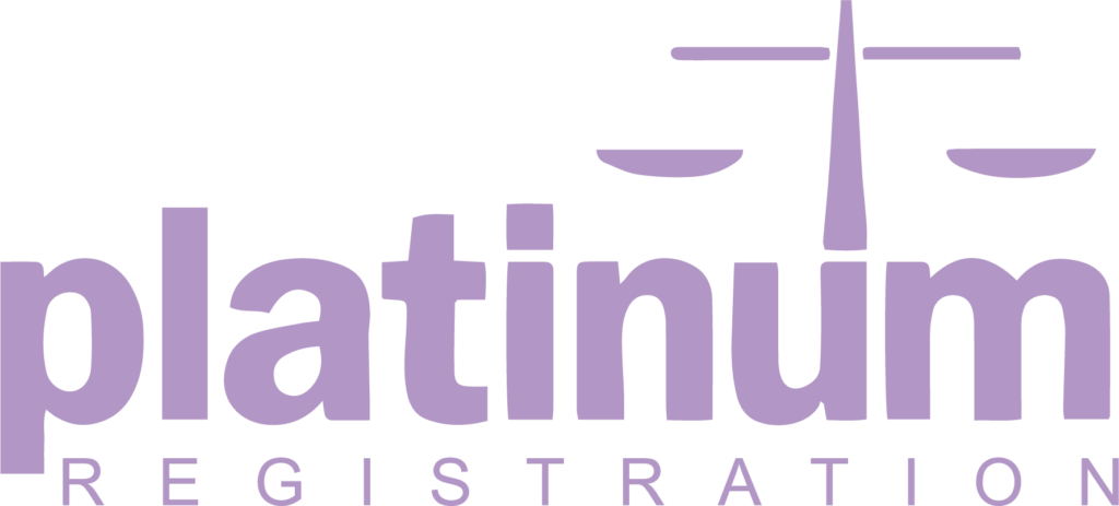 platinum registration badge