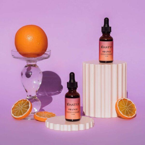 orange cbd tincture for women 900mg