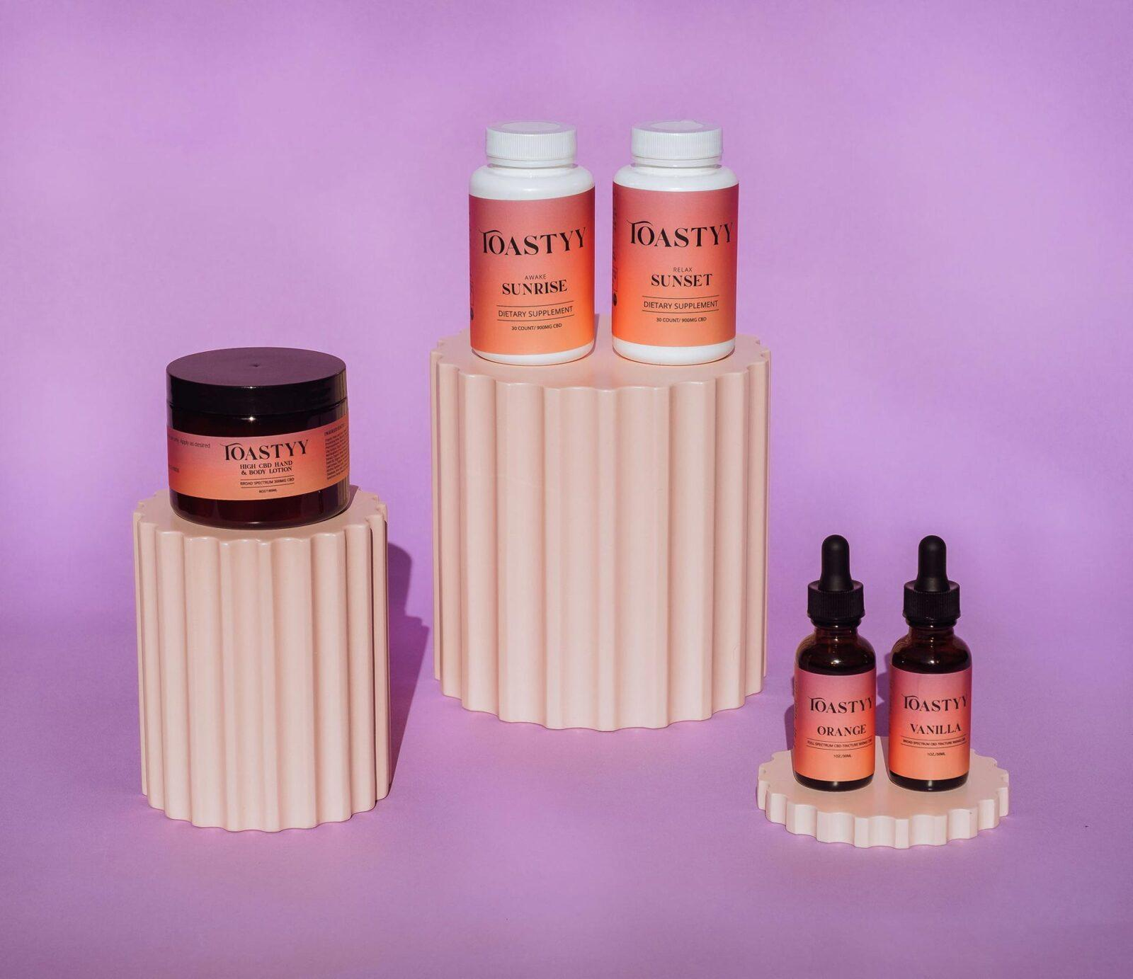 toastyy cbd wellness products