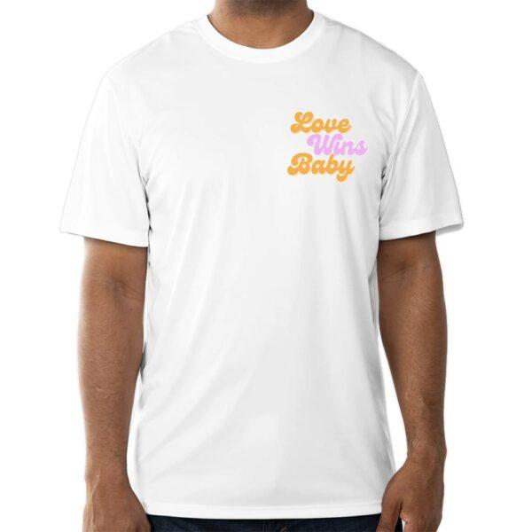 love wins tshirt mens